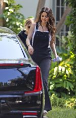 SELENA GOMEZ Out and About in Los Angeles 10/01/2019