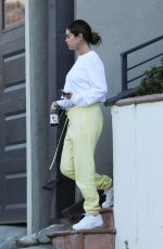 SELENA GOMEZ Out and About in Los Angeles 10/12/2019