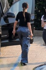 SELENA GOMEZ Out for Lunch at Nobu in Malibu 10/12/2019