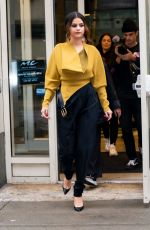 SELENA GOMEZ Out in New York 10/29/2019