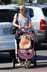SELMA BLAIR Out Shopping in Studio City 10/02/2019