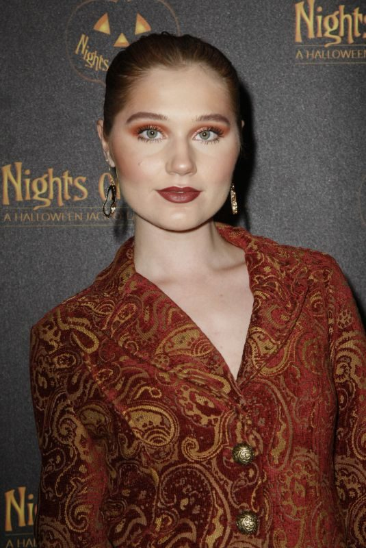SERENA LAUREL at Nights of the Jack Friends & Family Night 2019 in Calabasas 10/02/2019