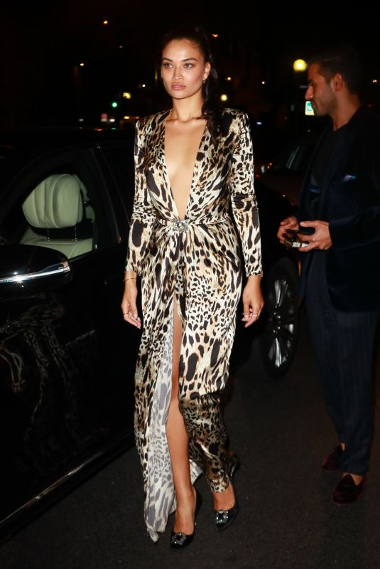 SHANINA SHAIK at Lutetia Pop Up in Paris 09/28/2019