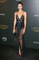 SHANINA SHAIK at Vogue x Irving Penn Party at Paris Fashion Week 10/01/2019