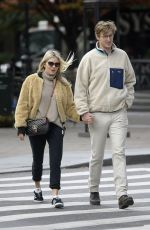 SIENNA MILLER and Lucas Zwirner Out in New York 10/18/2019