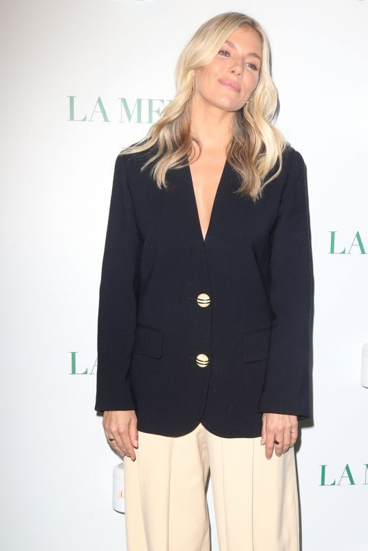 SIENNA MILLER at La Mer by Sorrenti Campaign Launch in New York 10/03/2019