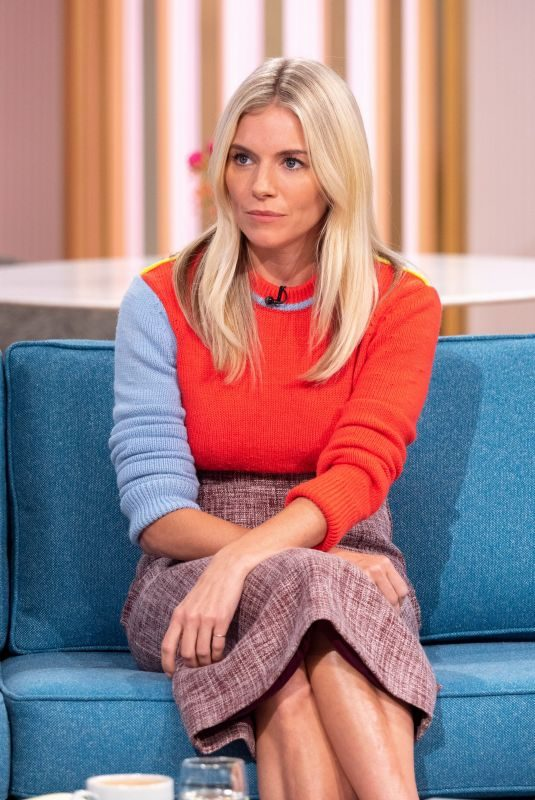 SIENNA MILLER at This Morning Show in London 10/10/2019
