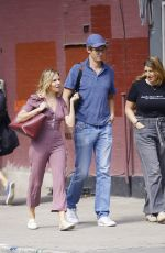 SIENNA MILLER, TARA SUMMERS and Lucas Zwirner Out in New York 09/30/2019