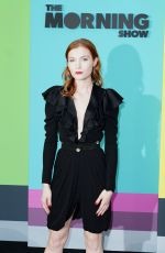 SKYLER SAMUELS at The Morning Show Premiere in New York 10/28/2019