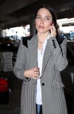 SOPHIA BUSH at Los Angeles International Airport 10/07/2019