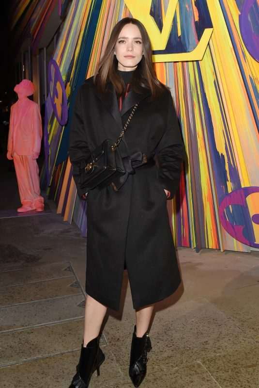 STACY MARTIN at Louis Vuitton Maison Store Launch Party in London 10/23/2019