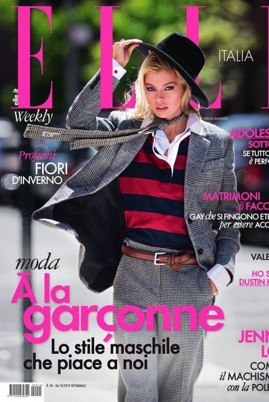STELLA MAXWELL in Elle Magazine, Italy October 2019
