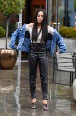 STEPHANIE DAVIS Out and About in Manchester 10/25/2019