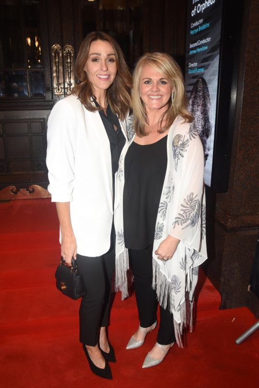 SURANNE JONES at Opening Night of Season Featuring Performance of Orpheus and Eurydice in London 10/01/2019