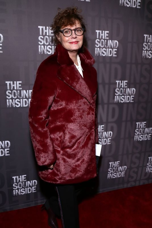 SUSAN SARANDON at The Sound Inside Opening Night at Studio 54 in New York 10/17/2019