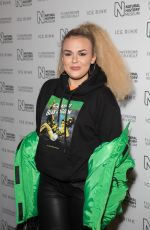 TALLIA STORM at Natural History Museum Ice Rink Launch Party in London 10/23/2019
