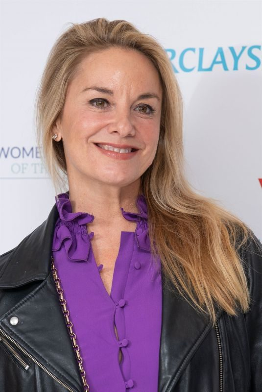 TAMZIN OUTHWAITE at Women of the Year Lunch and Awards in London 10/14/2019