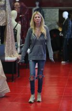 TARA REID Shopping for Halloween Costumes in West Hollywood 10/23/2019