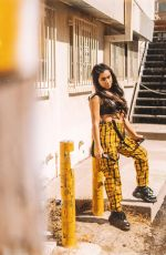 TATI MCQUAY at a Photoshoot, 2019