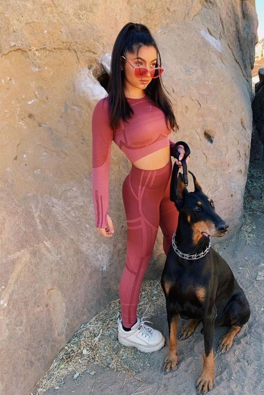 TATI MCQUAY Out with Her Dog – Instagram Photos and Video 10/21/2019