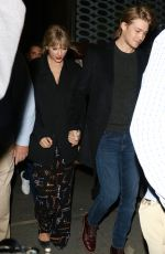 TAYLO SWIFT and Joe Alwyn Leaves SNL After-party in New York 10/05/2019