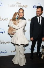 TESSA THOMPSON at Cinema Society Hosts a Special Screening of Lady and the Tramp in New York 10/22/2019
