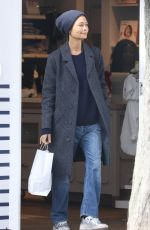 THANDIE NEWTON Out Shopping in London 10/16/2019