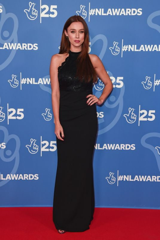 UNA HEALY at BBC National Lottery Awards 2019 in London 10/15/2019