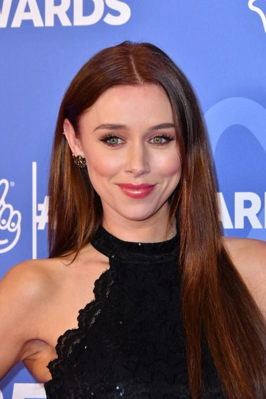UNA HEALY at National Lottery Awards 2019 in London 10/15/2019