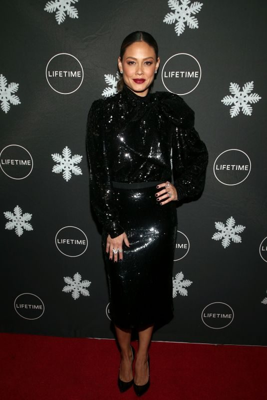 VANESSA MINNILLO at It's A Wonderful Lifetime Season Celebration in Los Angeles 10/22/2019