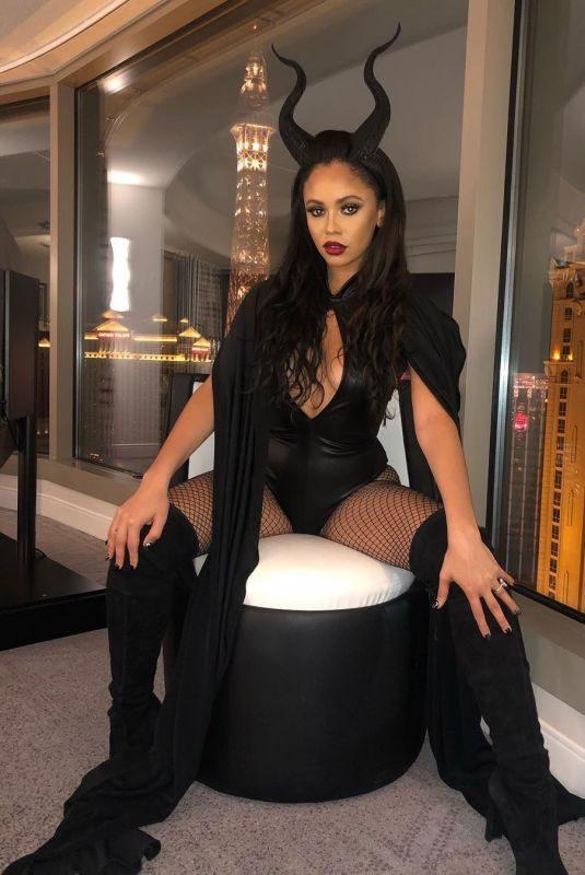 VANESSA MORGAN as Maleficent – Instagram Photos 10/27/2019