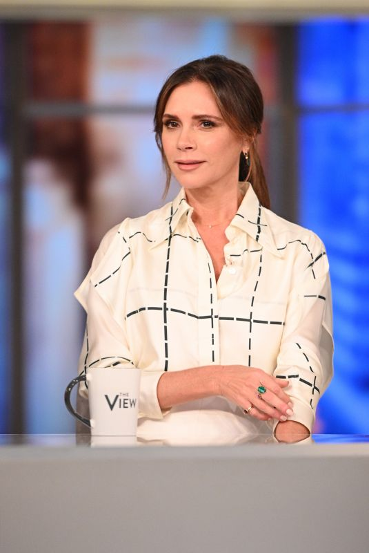 VICTORIA BECKHAM at The View 10/18/2019