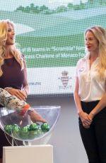 VICTORIA SILVSTEDT at Princess of Monaco Cup Teams Draw at Yacht Club De Monaco 10/02/2019