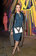 XENIA TCHOUMITCHEVA at Louis Vuitton Maison Store Launch Party in London 10/23/2019