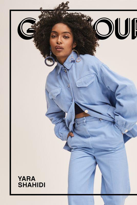 YARA SHAHIDI for Glamour Magazine, October 2019