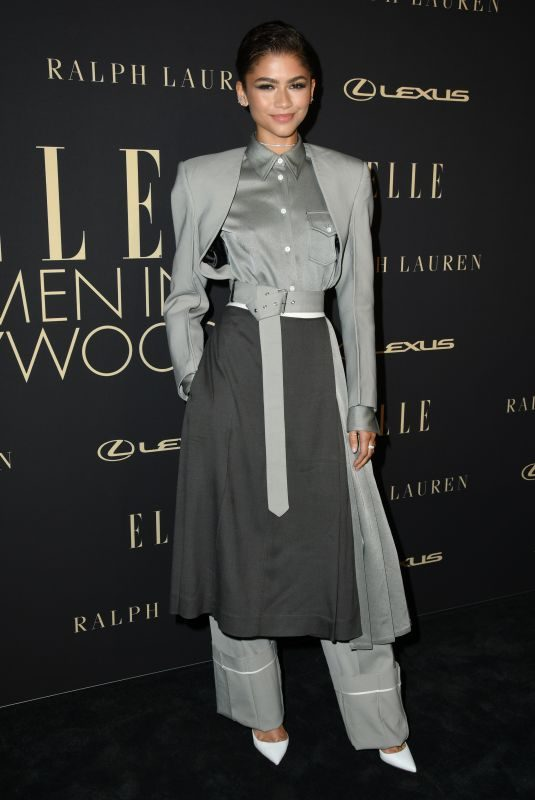 ZENDAYA COLEMAN at Elle Women in Hollywood Celebration in Los Angeles 10/14/2019
