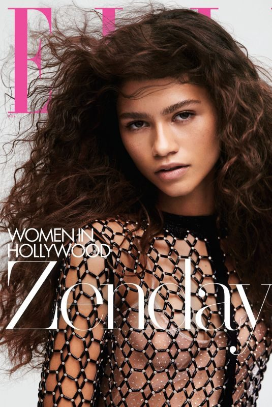 ZENDAYA in Elle Magazine – Women in Hollywood Issue, November 2019