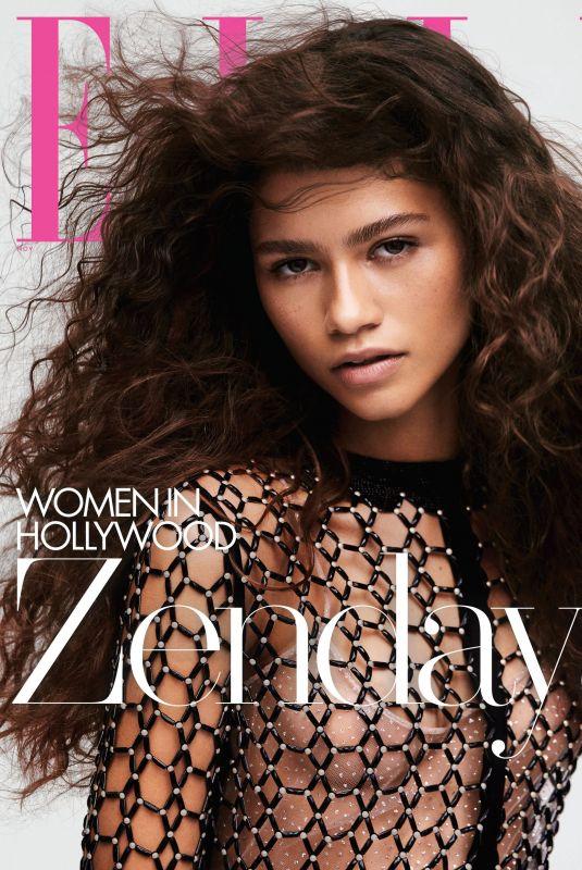 ZENDAYA in Elle Magazine - Women in Hollywood Issue, November 2019