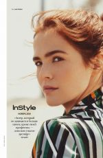 ZOEY DEUTCH in Instyle Magazine, Russia Nnovember 2019