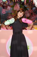 ZOOEY DESCHANEL at Crocs