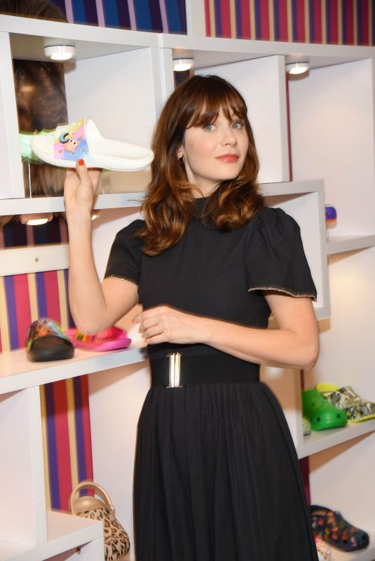ZOOEY DESCHANEL at Crocs' Spring/Summer 2020 Collection Exclusive Preview in New York 10/16/2019