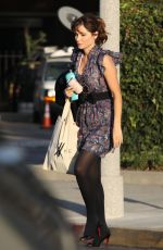 ZOOEY DESCHANEL Out in Beverly Hills 10/02/2019