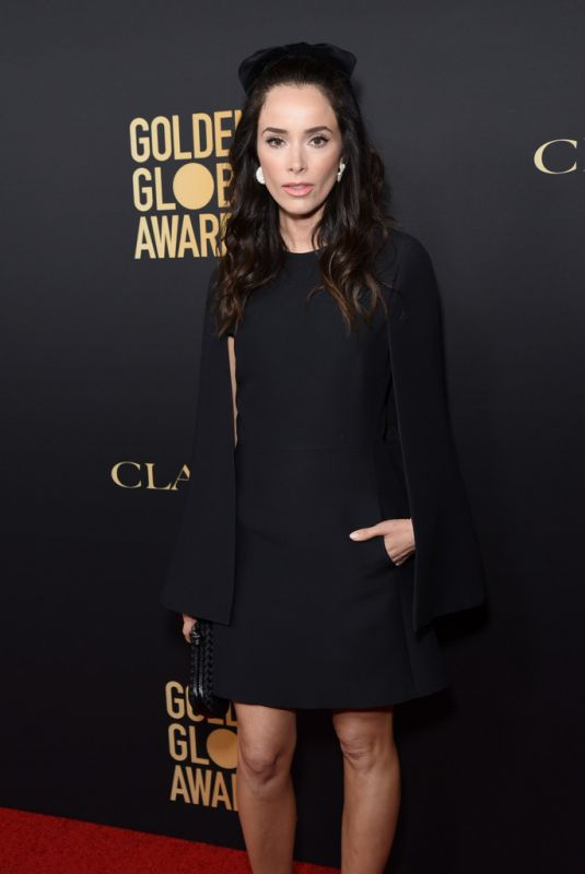 ABIGAIL SPENCER at HFPA & THR Golden Globe Ambassador Party in West Hollywood 11/14/2019