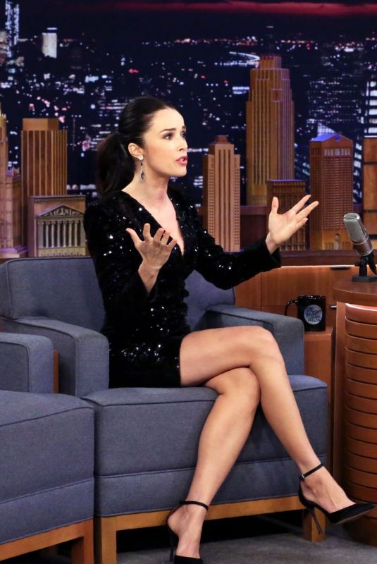 ABIGAIL SPENCER at Tonight Show Starring Jimmy Fallon 11/27/2019