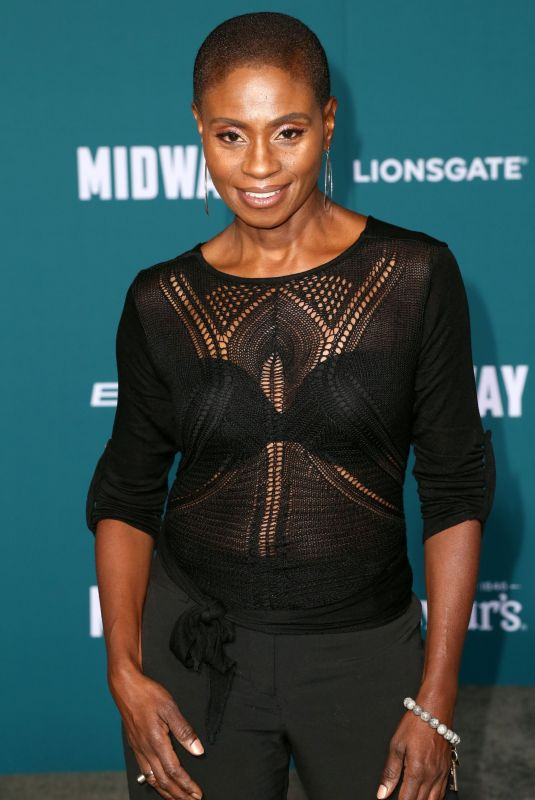 ADINA PORTER at Midway Premiere in Hollywood 11/05/2019