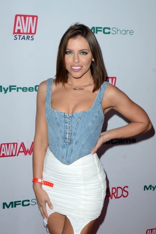 ADRIANA CHECHIK at Aadult Video News Awards Nominations in Hollywood 11/21/2019