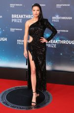 ADRIANA LIMA at 8th Annual Breakthrough Prize Ceremony in Mountain View 11/03/2019