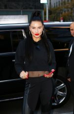 ADRIANA LIMA Promotes Her Line of Athletic Clothes at Puma Store in New York 11/01/2019