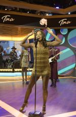 ADRIENNE WARREN Performs at Good Morning America 11/06/2019