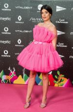 AIDA DOMENECH at Los40 Music Awards in Madrid 11/08/2019
